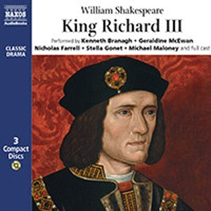 Bright Education, Audio Book, School Materials, King Richard III, CD, Theatre, Play, Shakespeare,