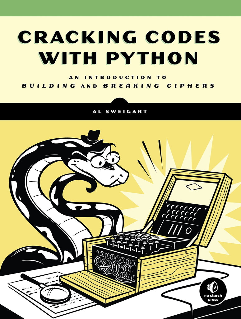 Cracking Codes with Python, Science, Computer Science, Coding, Code, Programming, Engineering, Electronics, Teaching Resources, Book, Bright Education Australia