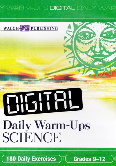 Digital Daily Warm Ups Science Grades 9-12, Science, Biology, Physics, Chemistry, Earth Science, Teaching Resources, Book, Bright Education Australia
