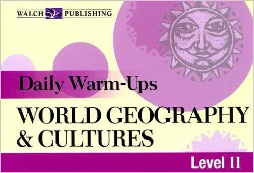 Bright Education Australia, Teacher Resources, Book, Geography, Climate, Earth Science, Daily Warm Ups World Geography & Cultures Level 2