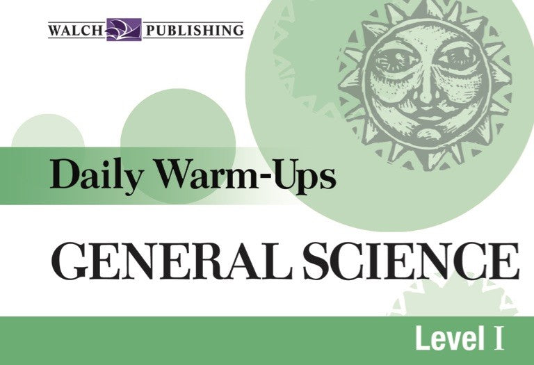 Daily Warm Ups General Science Level 1, Science, Biology, Physics, Chemistry, Earth Science, Teaching Resources, Book, Bright Education Australia