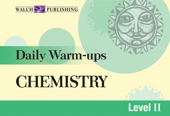 Daily Warm Ups Chemistry Level 2, Science, Biology, Physics, Chemistry, Earth Science, Teaching Resources, Book, Bright Education Australia