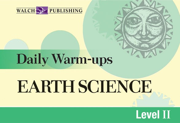 Daily Warm Ups Earth Science Level 2,  Science, Biology, Physics, Chemistry, Earth Science, Teaching Resources, Book, Bright Education Australia