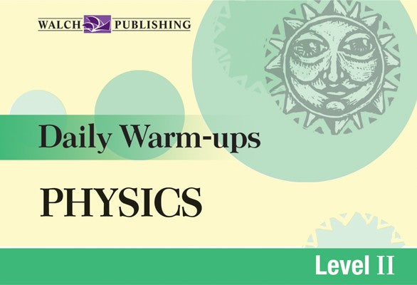 Daily Warm Ups Physics Level 2, Science, Biology, Physics, Chemistry, Earth Science, Teaching Resources, Book, Bright Education Australia