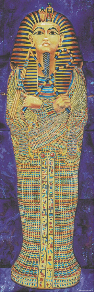 Bright Education Australia, Teacher Resources, Poster, Colossal Poster, History, Egyptian Mummy Case