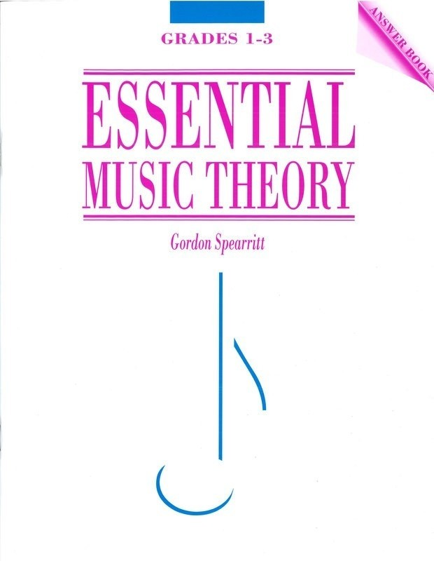 Bright Education Australia, Teacher Resources, Music, Book, Exams, AMEB Gradings, Textbook, Workbook, Essential Music Theory: Answer Book Grades 1-3