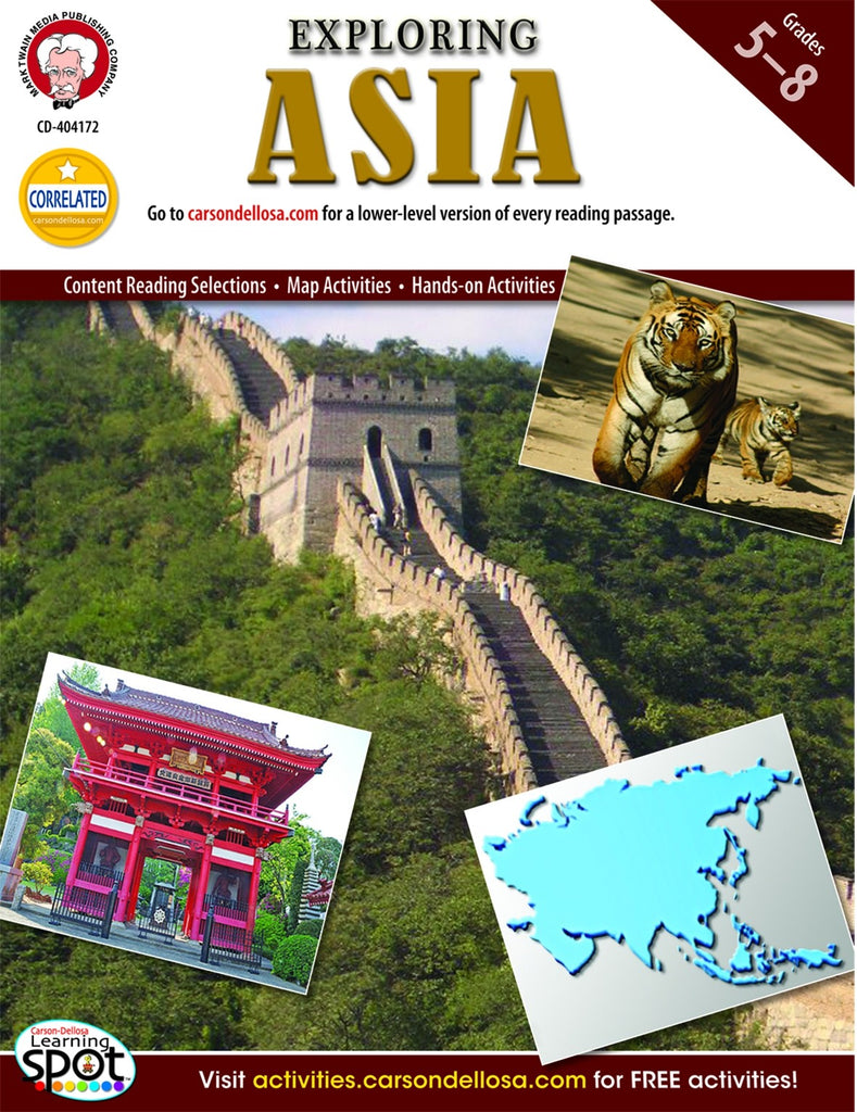 Bright Education Australia, Teacher Resources, Book, Geography, Climate, Earth Science, Exploring Asia
