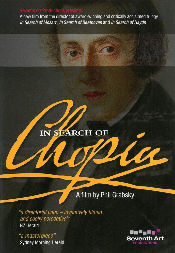 Bright Education Australia, Teacher Resources, Music, DVD, In Search of Chopin, Classical Music, Composers