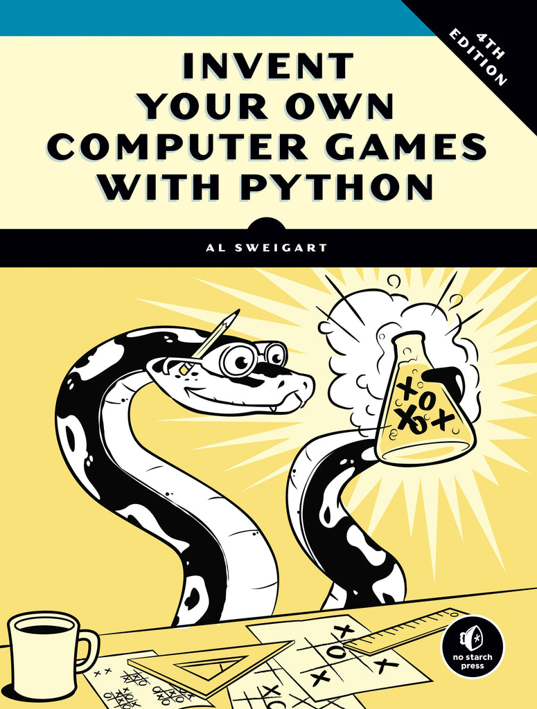Science, Computer Science, Coding, Code, Programming, Engineering, Electronics, Teaching Resources, Book, Bright Education Australia,Invent Your Own Computer Games with Python,