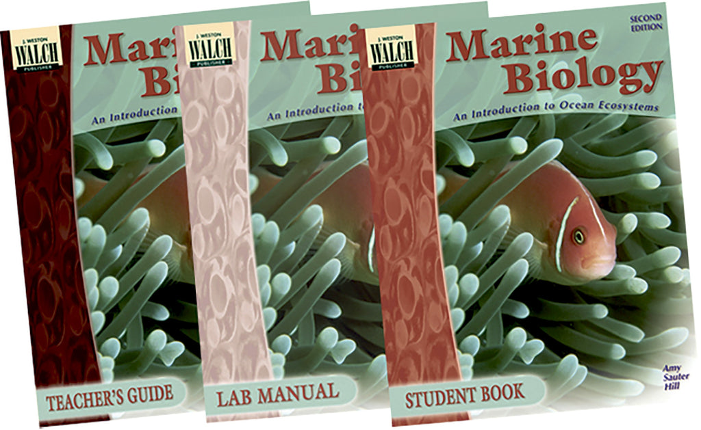 Marine Biology Series Set of 3, Science, Biology, Physics, Chemistry, Earth Science, Teaching Resources, Book, Bright Education Australia