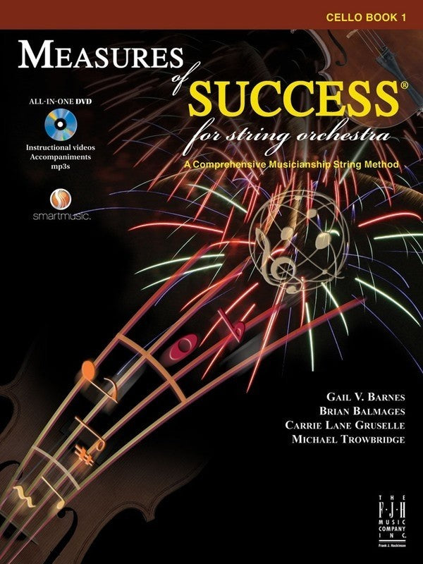 Bright Education Australia, Teacher Resources, Music, Book, Measures for Success Cello Book 1 + DVD