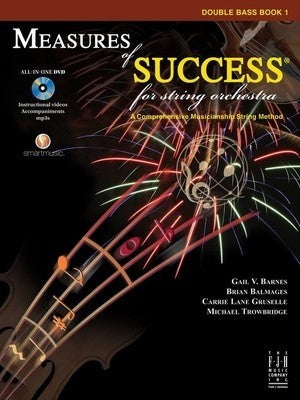 Bright Education Australia, Teacher Resources, Music, Book, Measures of Success Double Bass Book 1 + DVD