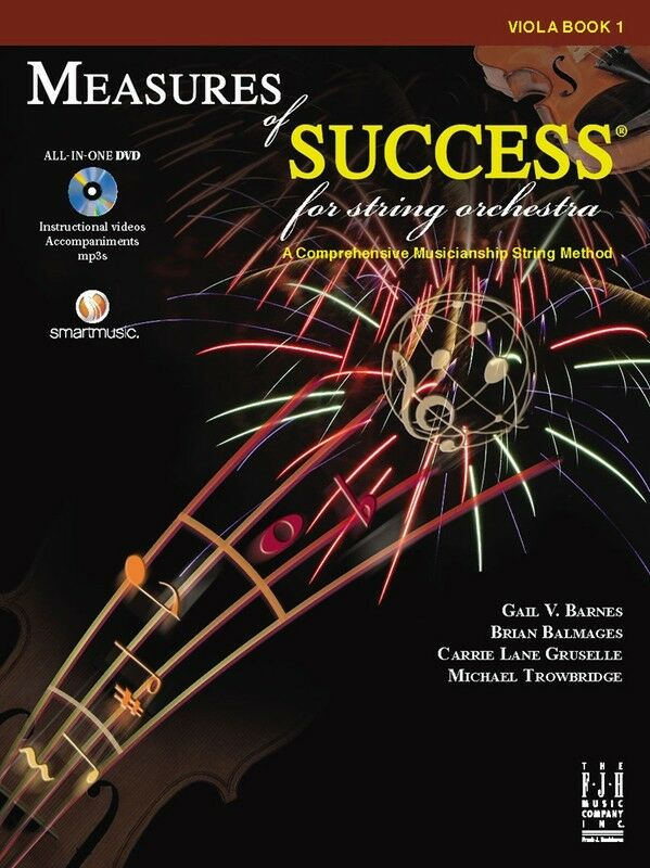 Bright Education Australia, Teacher Resources, Music, Book, Measures of Success Viola Book 1 + DVD