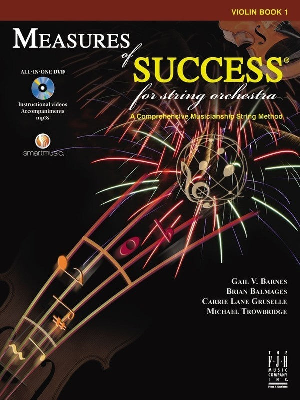 Bright Education Australia, Teacher Resources, Music, Book, Measures of Success Violin Book 1 + DVD