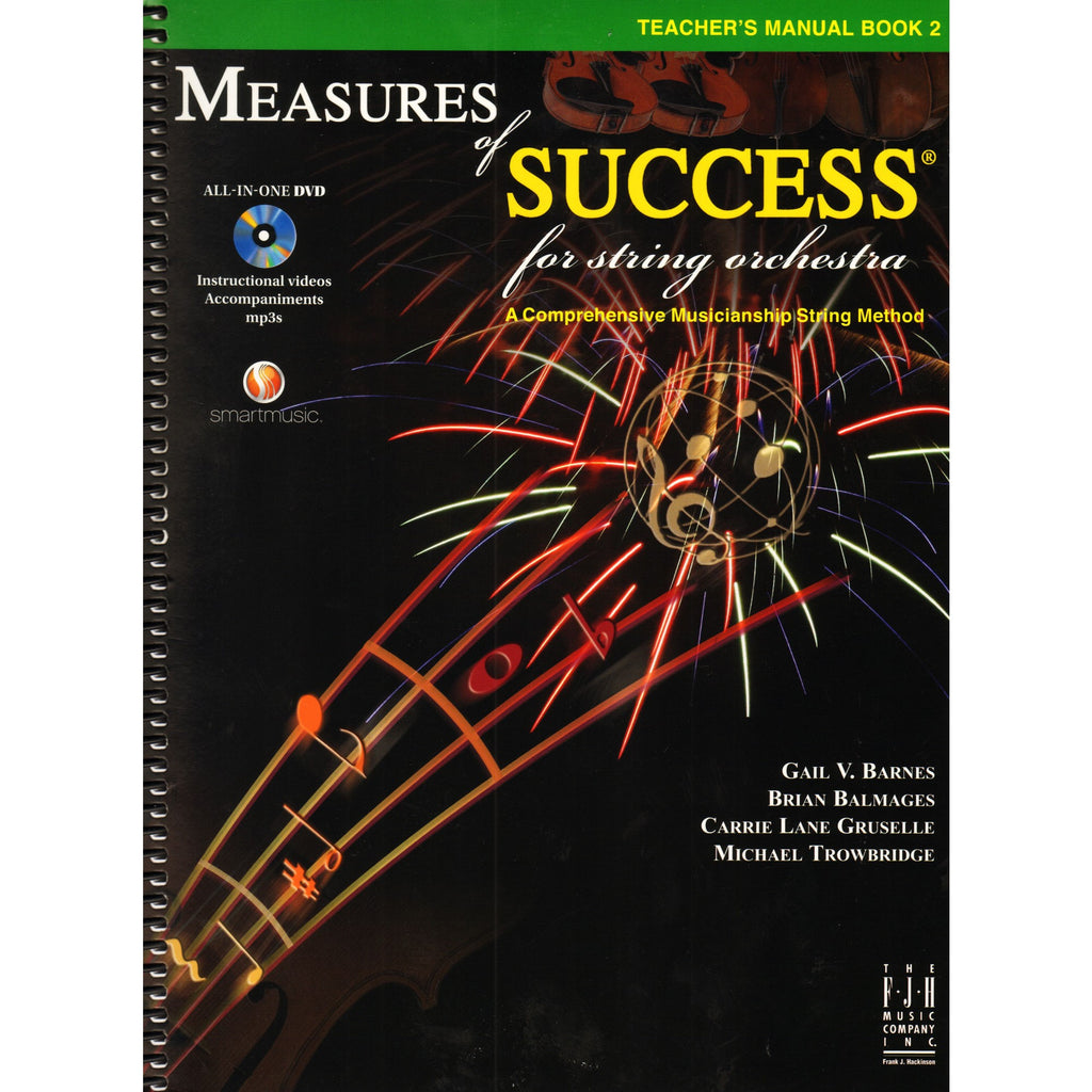 Bright Education Australia, Teacher Resources, Music, Book, Measures of Success for String Orchestra Teacher's Manual Book 2 + DVD