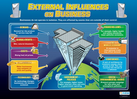 External Influences on Business, Accounting, Finance, Quantitative Data, Financial Data, Market Share, Market Growth, Marketing, A1 Poster, Economics, Business, Teaching Resources, Poster, Bright Education Australia