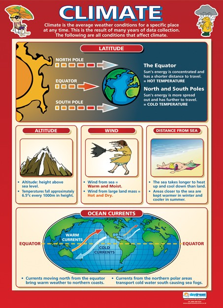 Bright Education Australia, Teacher Resources, Poster, A1 Poster, Geography, Biomes, Plants, Animals, Climate, Earth Science
