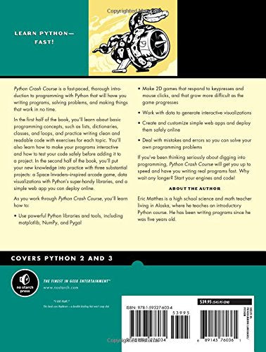 Python Crash Course, Science, Computer Science, Coding, Code, Programming, Engineering, Electronics, Teaching Resources, Book, Bright Education Australia