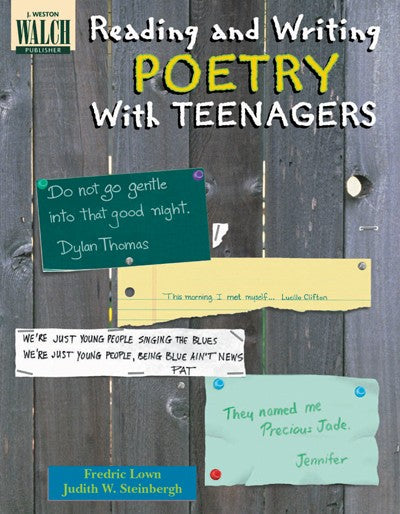 Reading & Writing Poetry with Teenagers, Poetry, Bright Education Australia, Book, Grammar, English, School Materials, Games, Puzzles, Activities, Teaching Resources