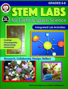 STEM Labs for Earth & Space Science, Science, Biology, Physics, Chemistry, Earth Science, Teaching Resources, Book, Bright Education Australia
