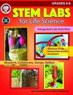 STEM Labs for Life Science, Science, Biology, Physics, Chemistry, Earth Science, Teaching Resources, Book, Bright Education Australia