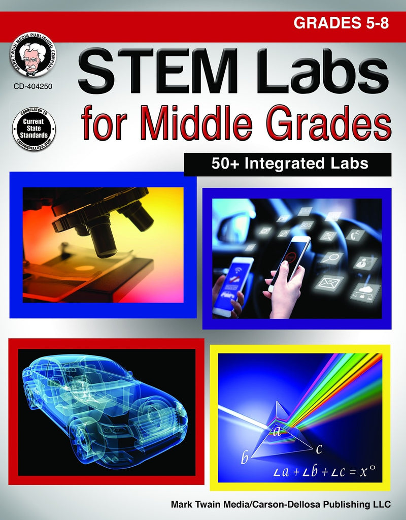 STEM Labs for Middle Grades, Science, Biology, Physics, Chemistry, Earth Science, Teaching Resources, Book, Bright Education Australia