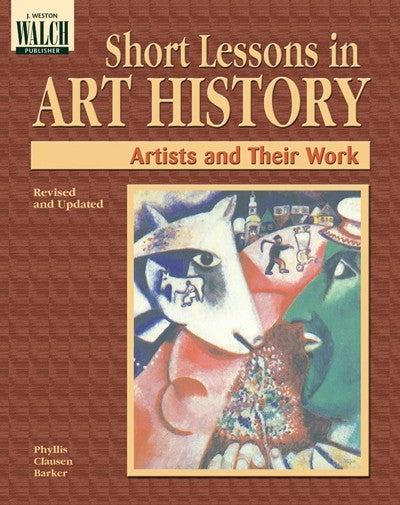 Bright Education Australia, Teacher Resources, Visual Art, Art, Book, drawing, painting, Short Lessons in Art History: Artists & Their Work, Teacher's Guide