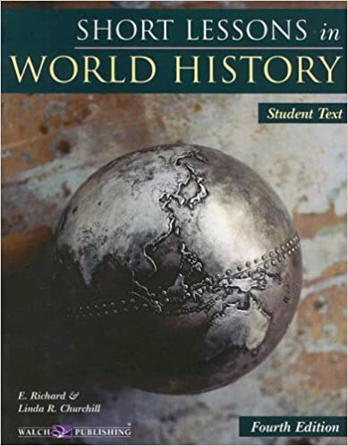 Bright Education Australia, Teacher Resources, Book, History, Short Lessons in World History Student Text