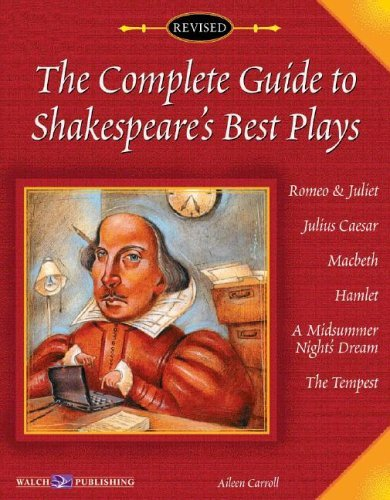 The Complete Guide to Shakespeare's Best Plays, Bright Education Australia, Book, Shakespeare, English, School Materials, Activities, Teaching Resources