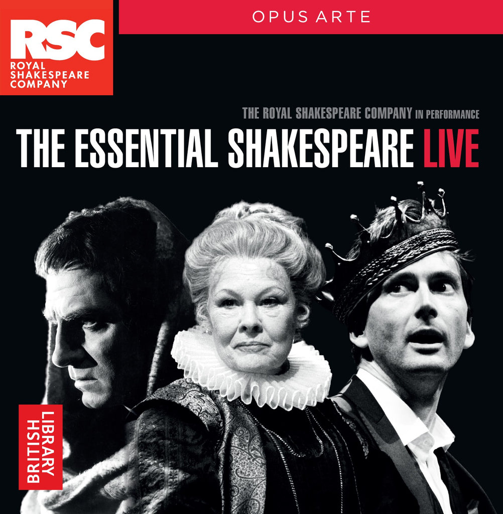 The Essentials Shakespeare Live, CD, Theatre, Play, Shakespeare, Hamlet, Macbeth, Romeo & Juliet, Bright Education, School Materials, Royal Shakespeare Company, Teaching Resources