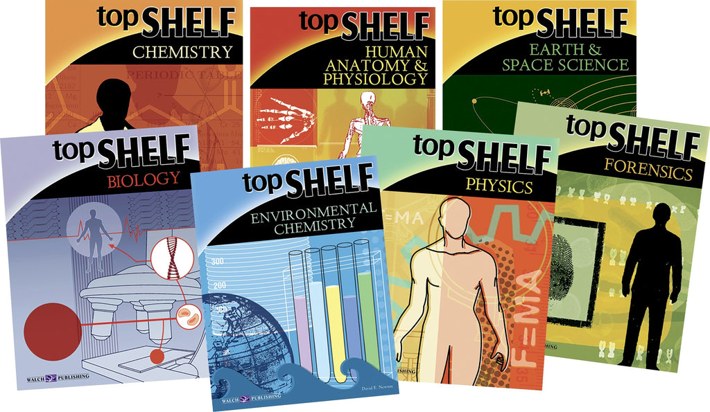 TopShelf Science Series Set of 7, Science, Biology, Physics, Chemistry, Earth Science, Teaching Resources, Book, Bright Education Australia