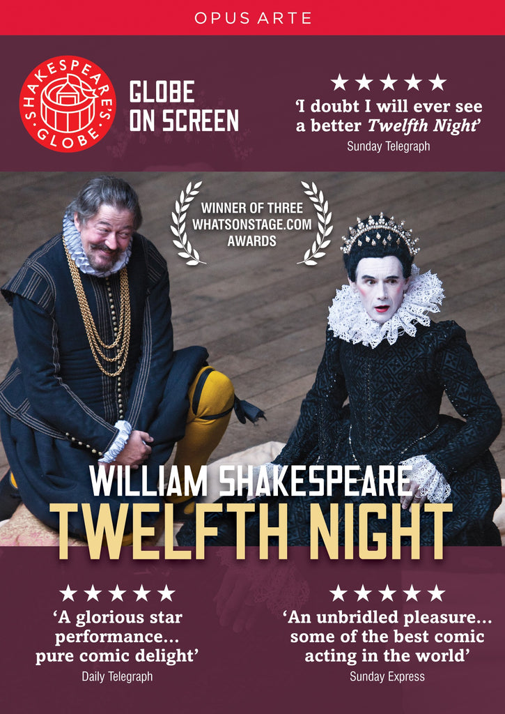 Twelfth Night, DVD, Theatre, Play, Shakespeare, Bright Education Australia, School Materials, Globe Live, Globe Theatre, Teaching Resources, Royal Shakespeare Company
