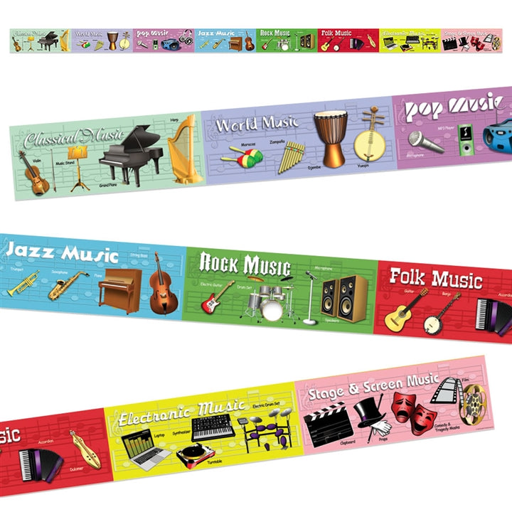 Bright Education Australia, Teacher Resources, Poster, Music, Topper, Types of Music