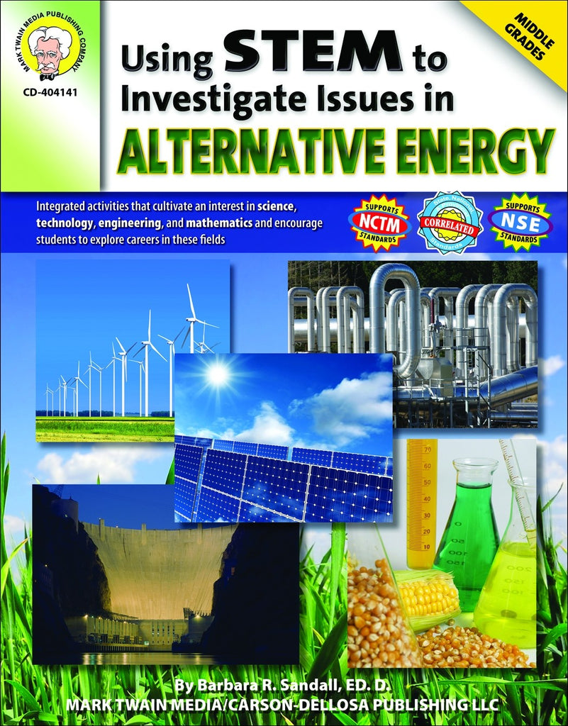 Science, Biology, Physics, Chemistry, Earth Science, Teaching Resources, Book, Bright Education Australia,Using STEM to Investigate Issues in Alternative Energy,