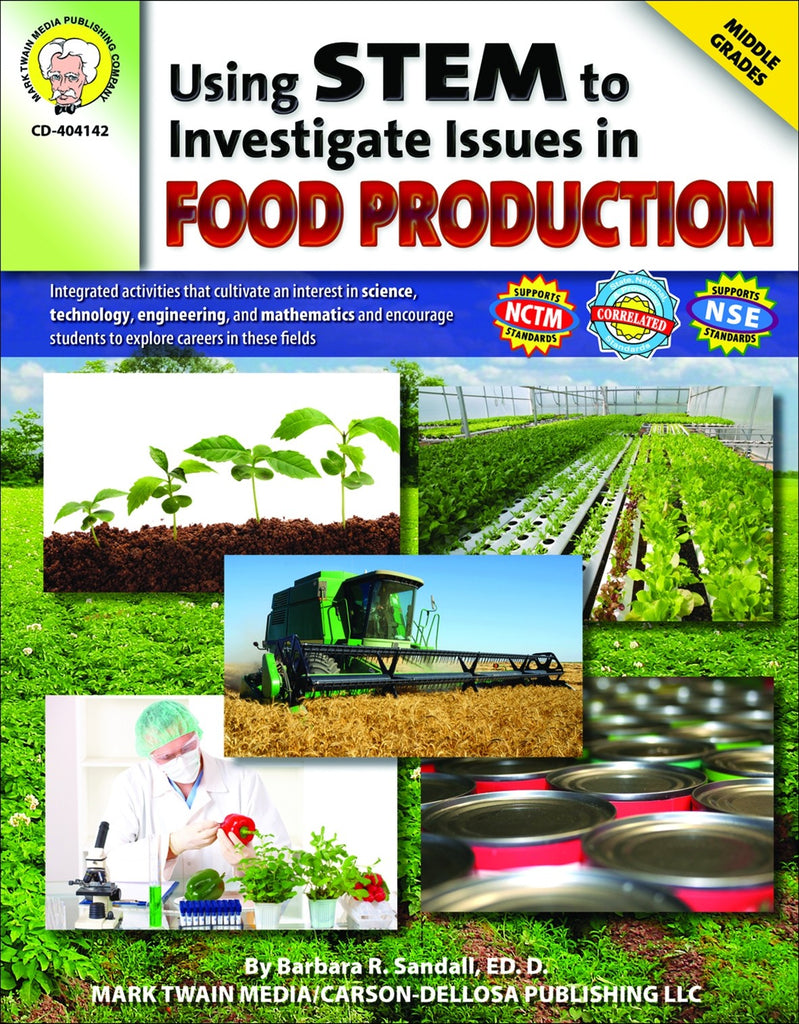Science, Biology, Physics, Chemistry, Earth Science, Teaching Resources, Book, Bright Education Australia,Using STEM to Investigate Issues in Food Production,