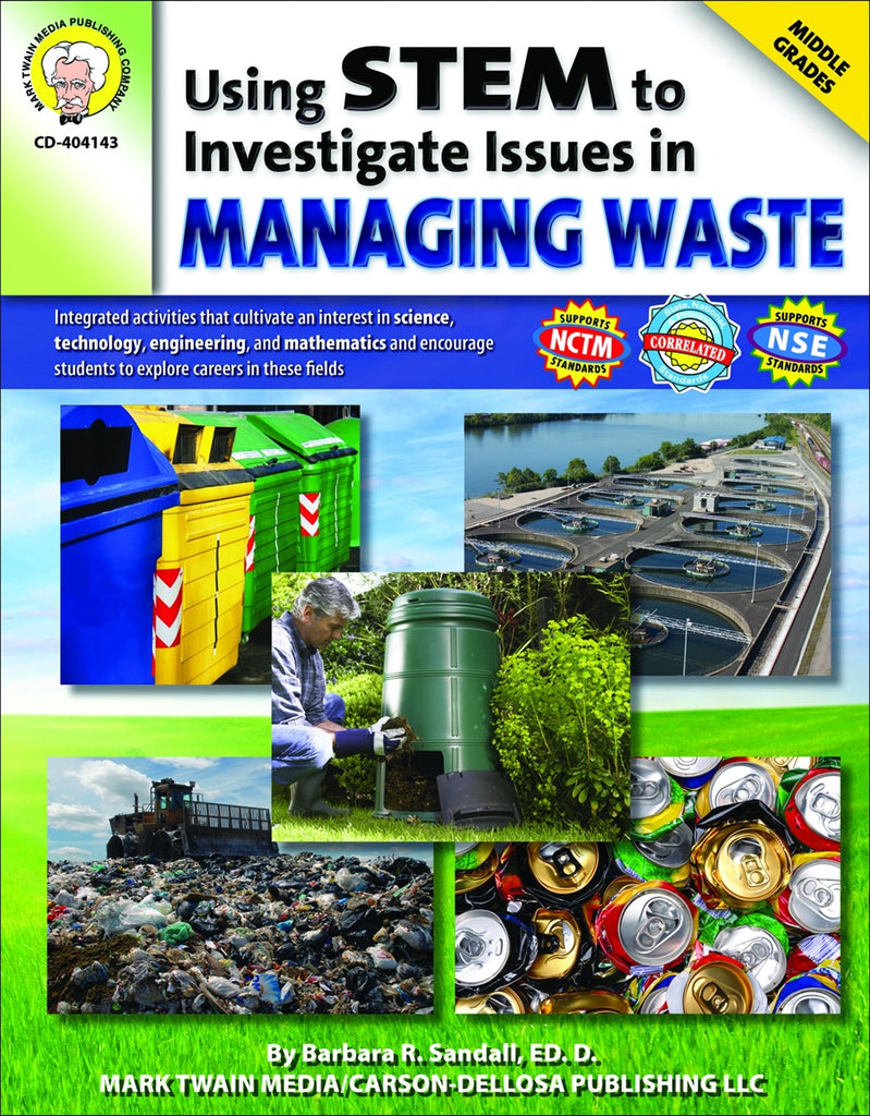 Using STEM to Investigate Ways of Managing Waste, Science, Biology, Physics, Chemistry, Earth Science, Teaching Resources, Book, Bright Education Australia