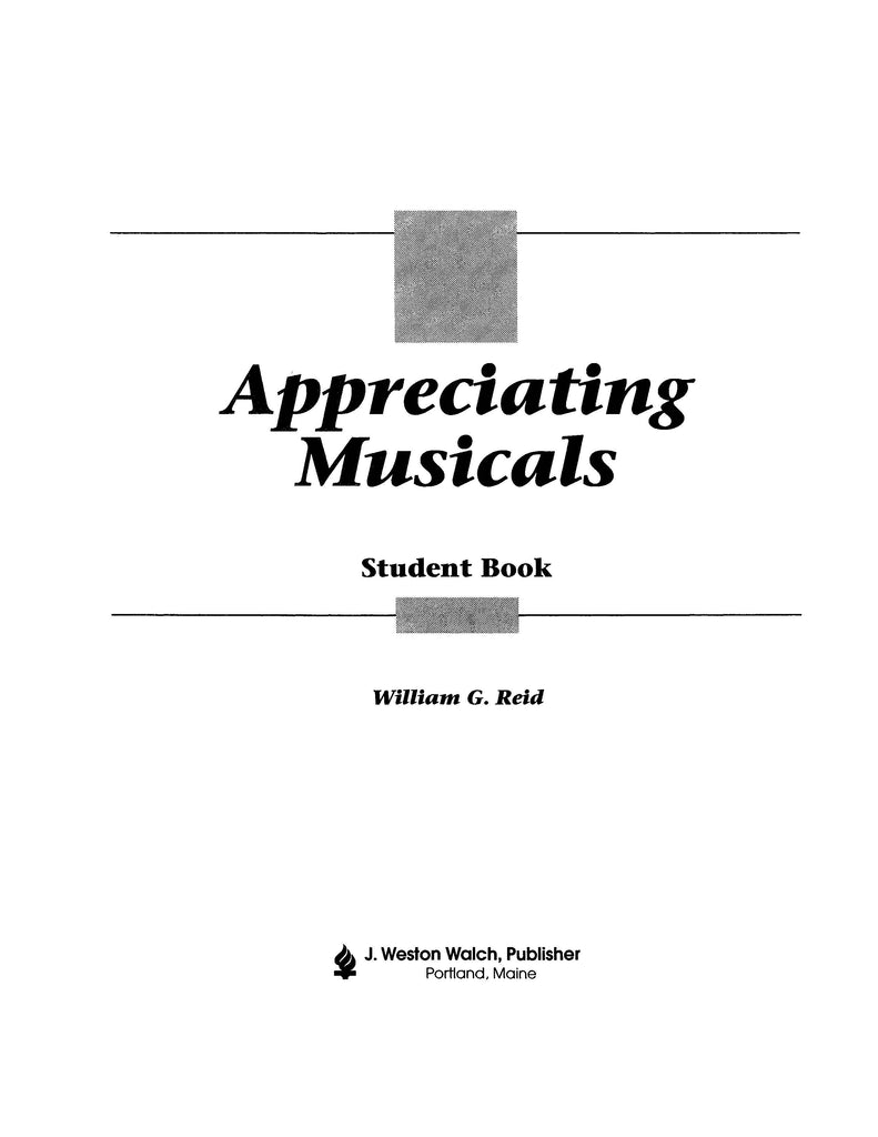 Bright Education Australia, Teacher Resources, Music, Book, Drama, Theatre, Appreciating Musicals,