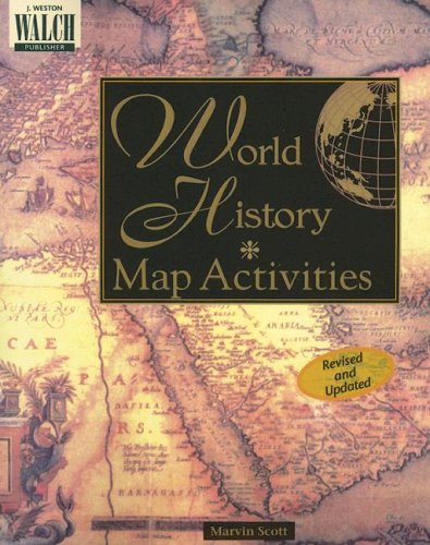 Bright Education Australia, Teacher Resources, Book, History, World History: Map Activities