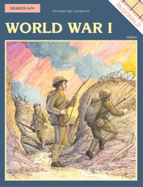 Bright Education Australia, Teacher Resources, Book, History, World War I, Last Chance to Buy, First World War, WW1, WWI