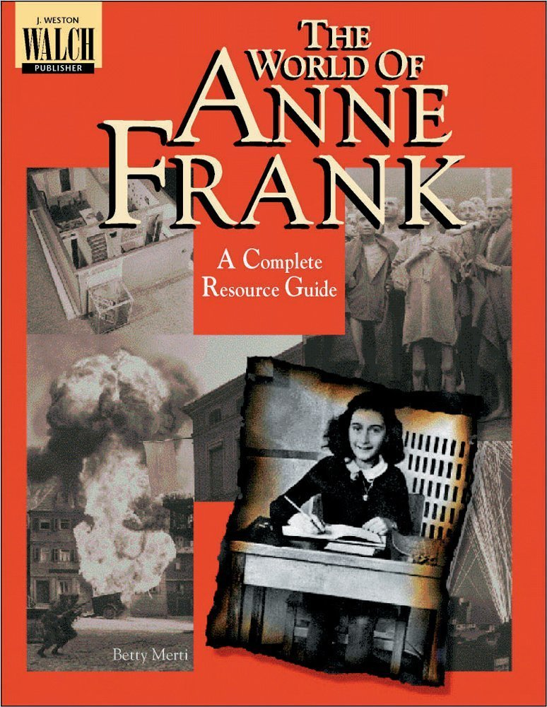 Bright Education Australia, Teacher Resources, Book, History, World of Anne Frank: The Complete Resource, Second World War, WW2, WWII