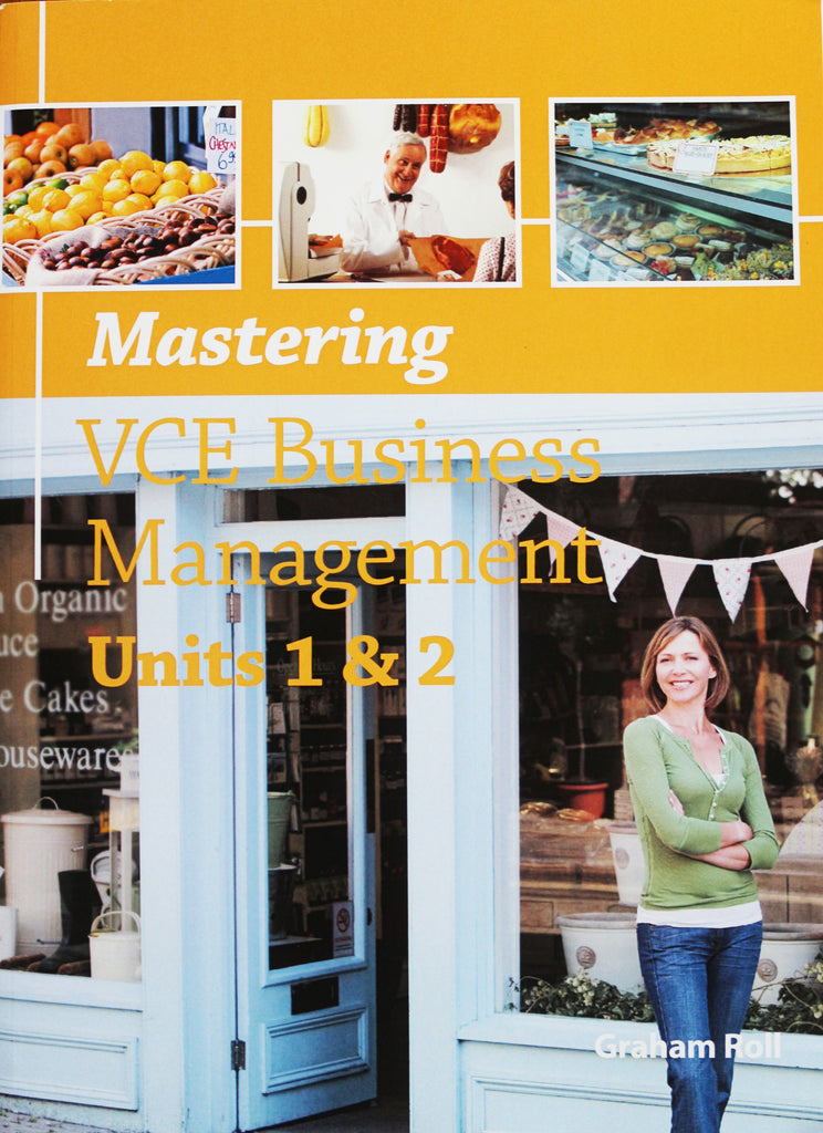 Mastering VCE Business Management Units 1&2, Accounting, Finance, Quantitative Data, Financial Data, Market Share, Market Growth, Marketing, A1 Poster, Economics, Business, Teaching Resources, Book, Bright Education Australia