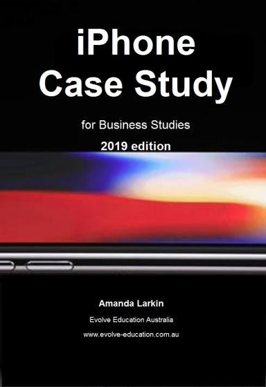 iPhone Case Study 2019 Edition, Accounting, Finance, Quantitative Data, Financial Data, Market Share, Market Growth, Marketing, A1 Poster, Economics, Business, Teaching Resources, Book, Bright Education Australia