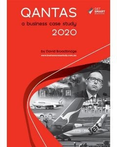 Qantas: A Business Case Study 2020, Accounting, Finance, Quantitative Data, Financial Data, Market Share, Market Growth, Marketing, A1 Poster, Economics, Business, Teaching Resources, Book, Bright Education Australia