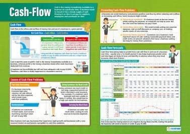 Cash Flow Forecast, Accounting, Finance, Quantitative Data, Financial Data, Market Share, Market Growth, Marketing, A1 Poster, Economics, Business, Teaching Resources, Poster, Bright Education Australia
