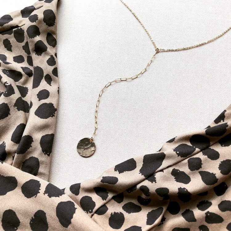 KELETI LARIAT NECKLACE