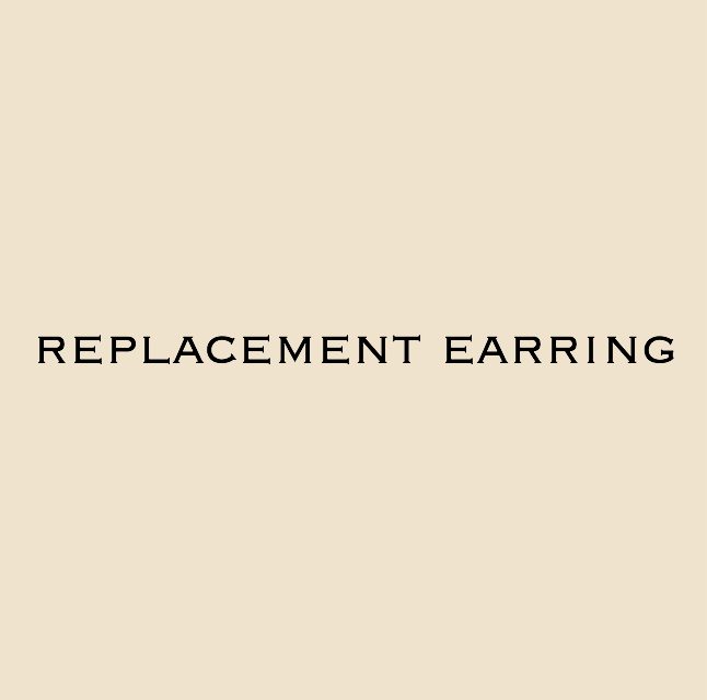 REPLACEMENT EARRING