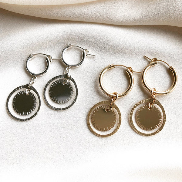 AURUM HOOP EARRINGS