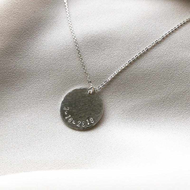 CUSTOM DISC NECKLACE
