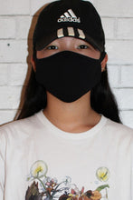 Load image into Gallery viewer, Black Solid Cotton Masks