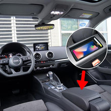 Load image into Gallery viewer, Wireless Induction Charger Audi A3